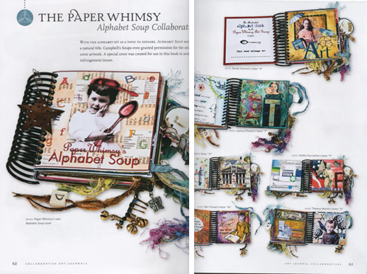 L.K. Ludwig's Collaborative Art Journals and Shared Visions in Mixed Media