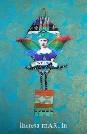 Flights o Fantasy Jewel Tone Regal Whimsy Balloon