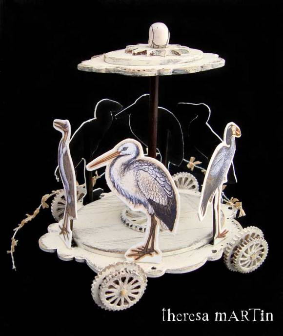 theresa mARTin Weird Bird Whimsy Wagon