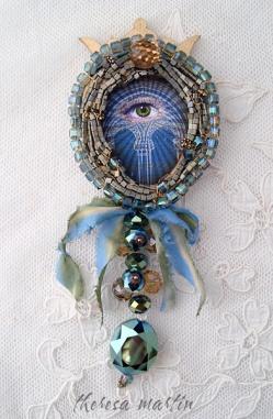 Mystical Eye Love Token by theresa mARTin