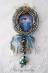 Mystical Eye Love Token by theresa mARTin