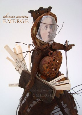 EMERGE Mixed Media Santos Cage Doll by theresa mARTin