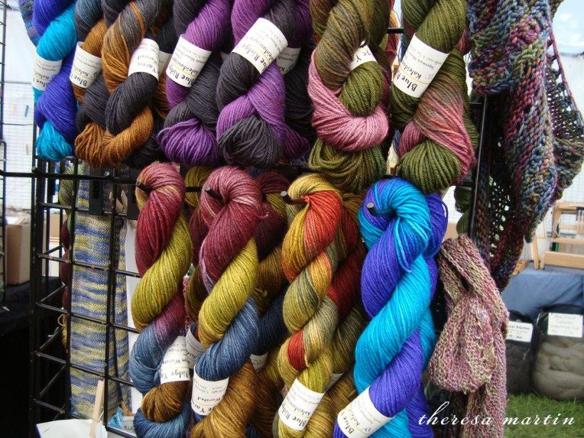Beautiful color way yarn