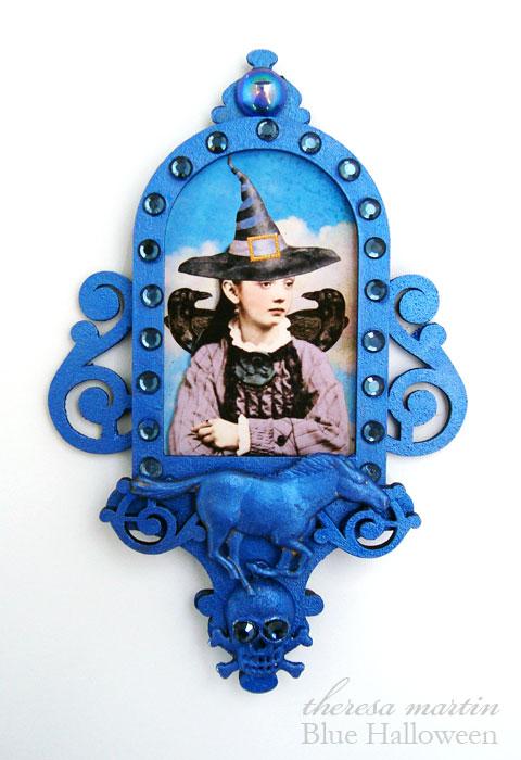 Blue Halloween theresa mARTin