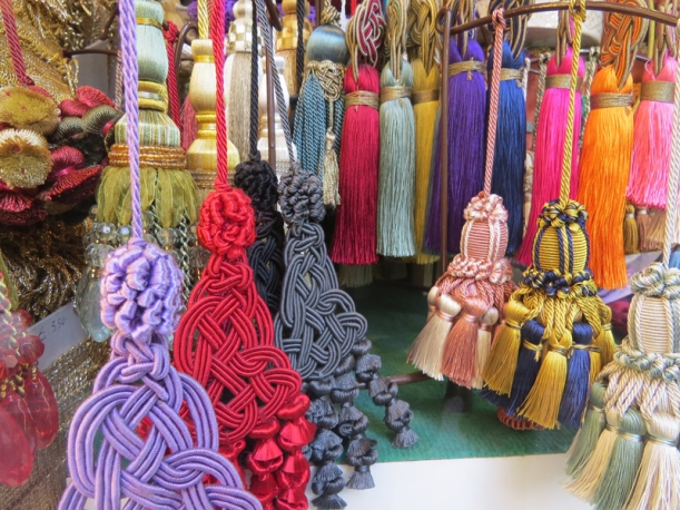 Lovely colored tassels