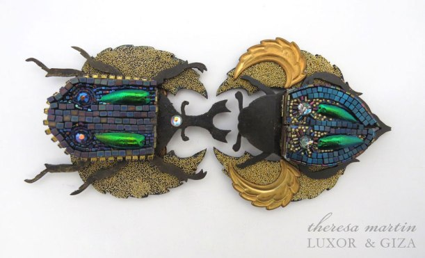 Two Scarabs Top View theresa mARTin