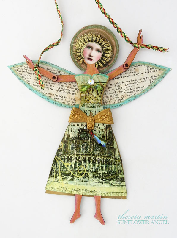 Sunflower Angel Giveaway