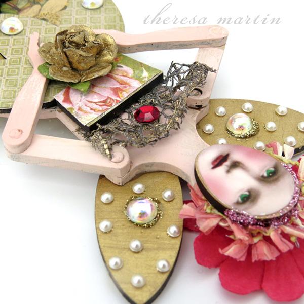 Springtime Garden Santos Doll