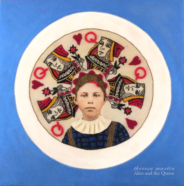 Alice and the Queen of Hearts theresa mARTin