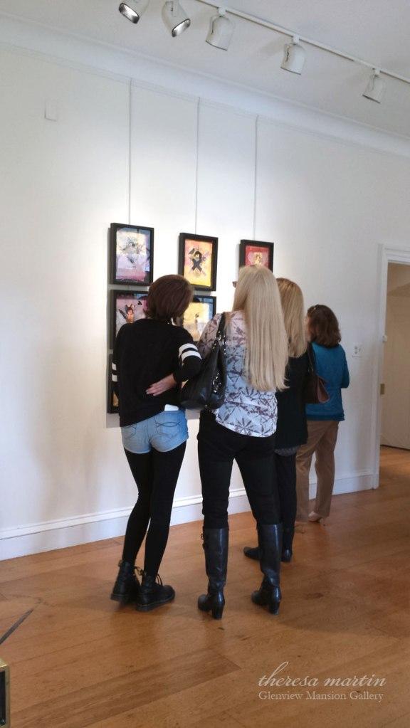 Gallery-goers