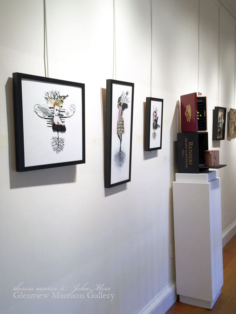 Glenview Mansion Art Gallery Opening Day