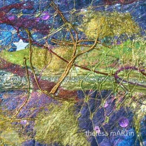 theresa mARTin handmade silk paper